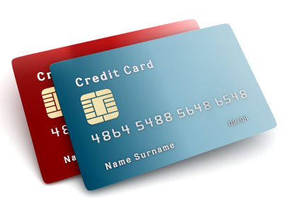 credit cards. and receiving credit cards